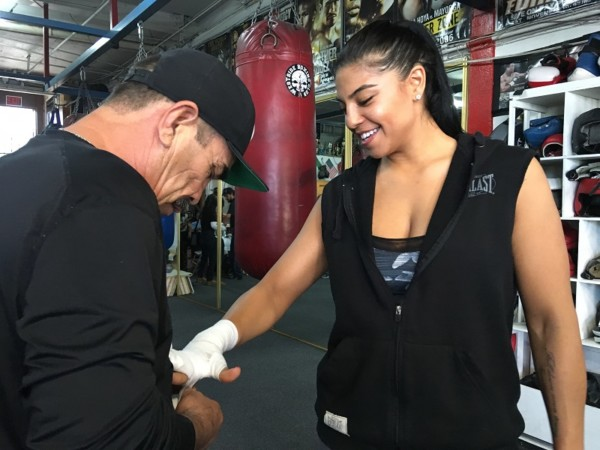 Maricela Cornejo - Golden Boy Promotions