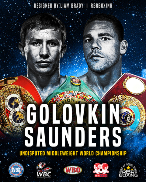Gennady Golovkin vs. BJ Saunders