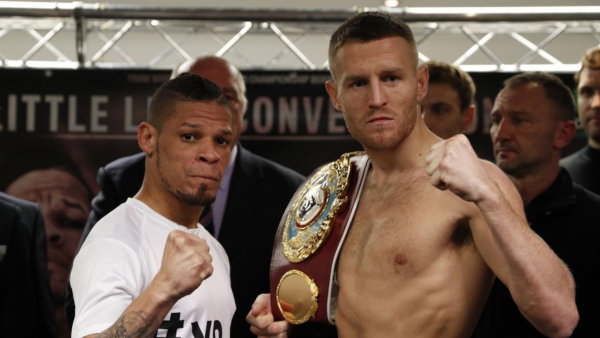 John Sibley/Reuters Orlando Cruz Terry Flanagan