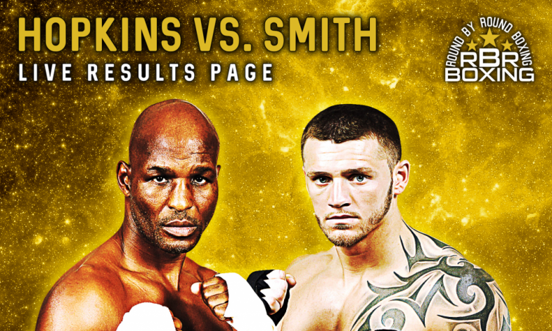 Hopkins vs. Smith Live Results