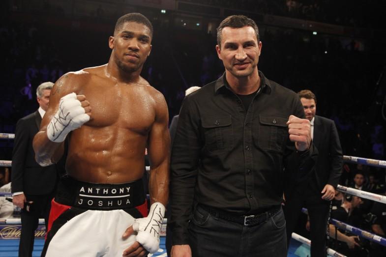Matchroom Boxing Programa Oficial Anthony Joshua Vs Wladimir Klitschko
