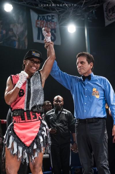 Raquel Miller vs. Latashia Burton - Laura Wong