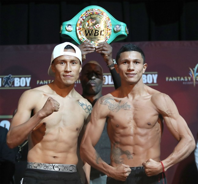 Vargas Vs. Berchelt & Miura Vs. Roman Weigh-In Results