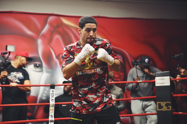 Danny Garcia Media Workout_03_04_2017_Workout_Rosie Cohe _ Showtime _ Premier Boxing Champions1