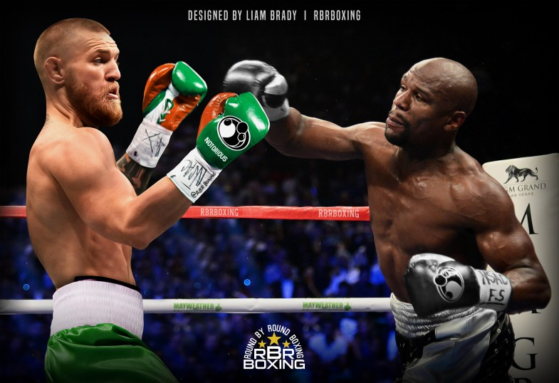 Floyd Conor FULL SIZE Mayweather McGregor
