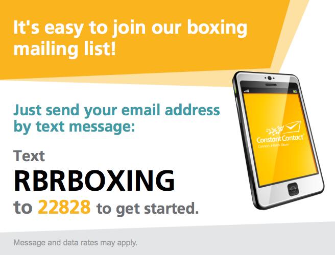 Boxing Mailing list