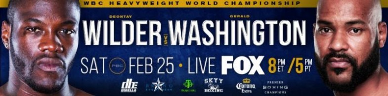 Wilder vs. Washington Banner