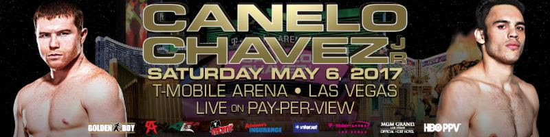 Image result for Canelo vs Chavez Jr live pic logo