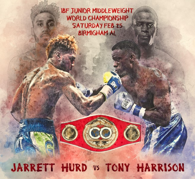 Jarrett Hurd Vs. Tony Harrison Now For Vacant IBF Title