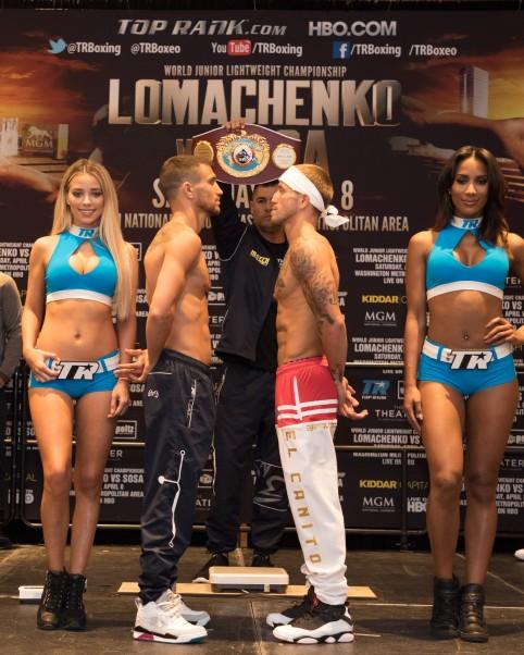 Lomachenko vs. Sosa Weigh In - ESVP LLC. 2017 (2)