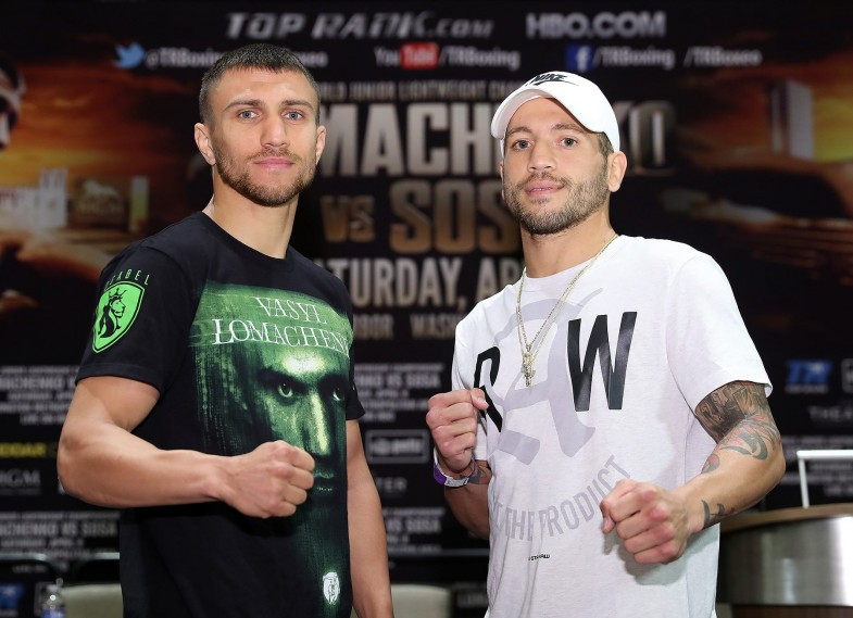 Vasyl Lomachenko vs. Jason Sosa Mikey Williams Top Rank 2