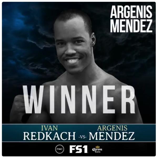 Argenis Mendez Defeats Ivan Redkach