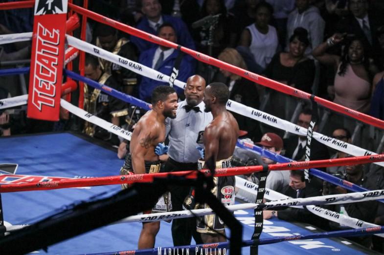 Photo Gallery Crawford Vs Diaz Fight Night
