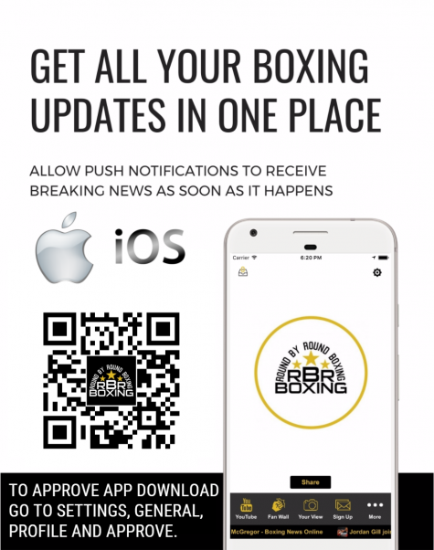 Boxing App for iPhone