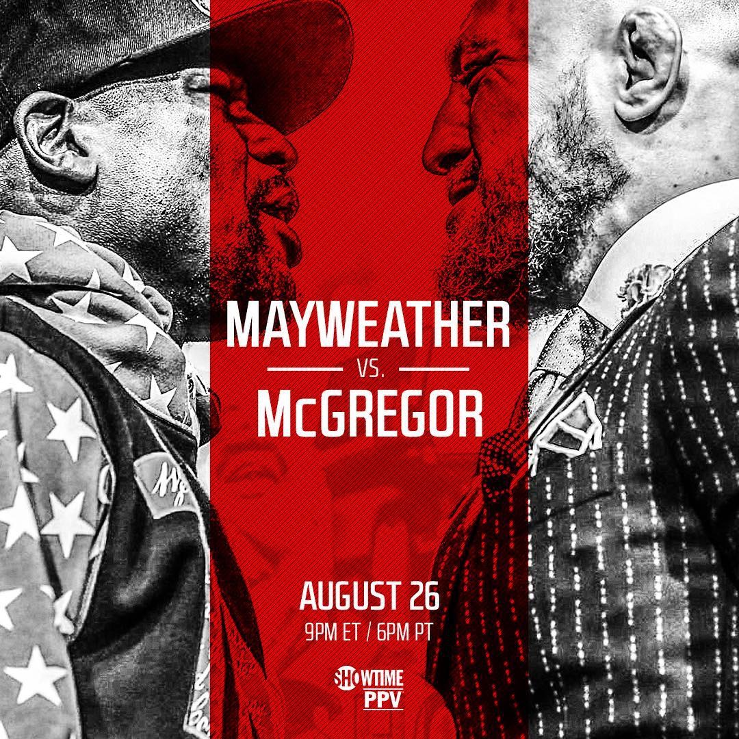 Mayweather vs. McGregor Live Results