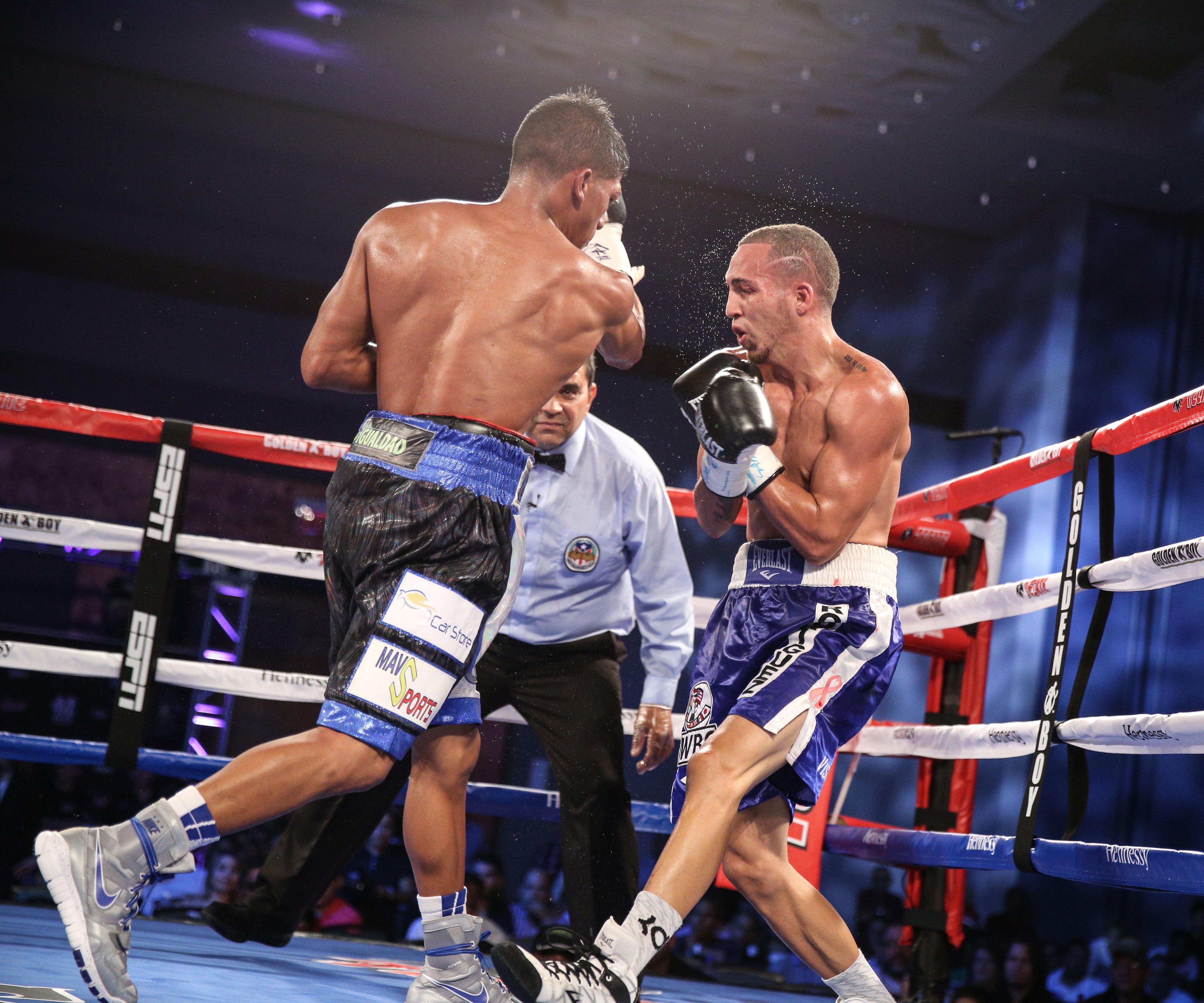 Alberto Machado Defeats Carlos Morales In Puerto Rico