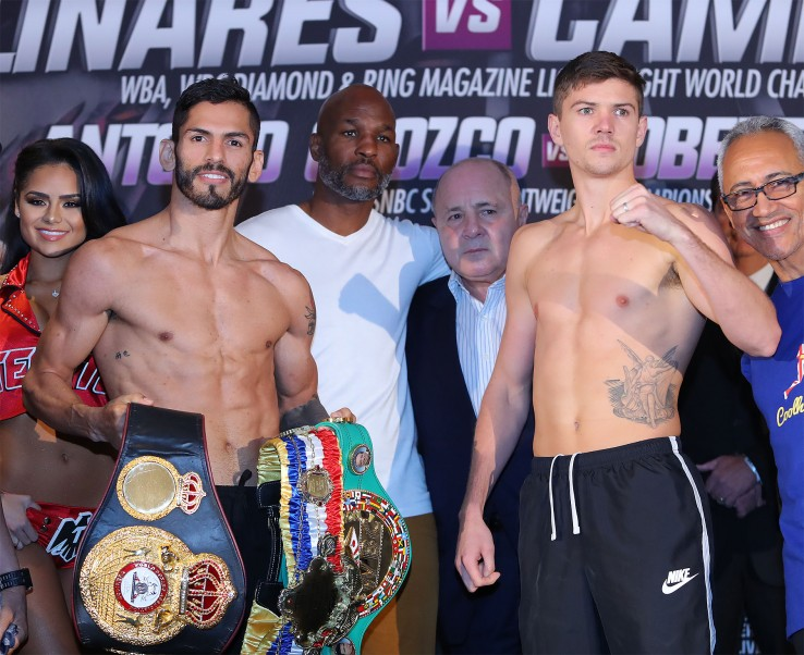 Linares edges Campbell to retain WBA lightweight title