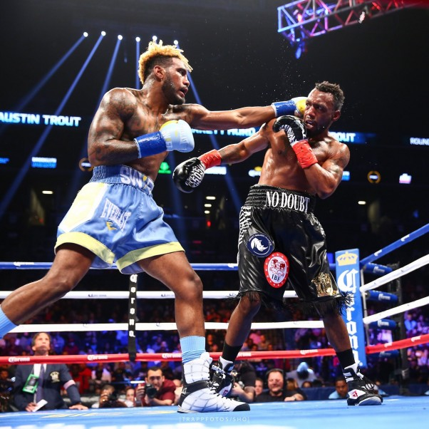 Jarrett Hurd Stops Austin Trout In Treacherous Barn Burner
