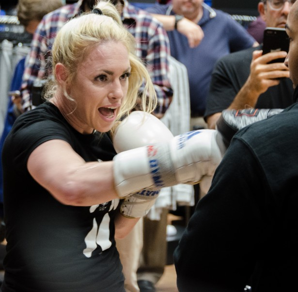 Heather Hardy Media Workout [Photos & Video]