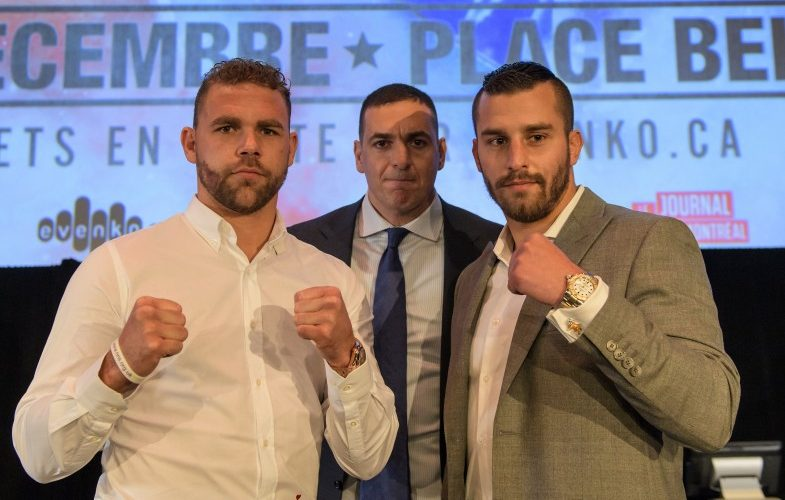 Billy Joe Saunders vs. David Lemieux