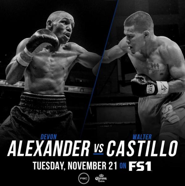 Devon Alexander vs. Walter Castillo