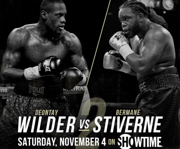 deontay wilder vs bermane stiverne 2