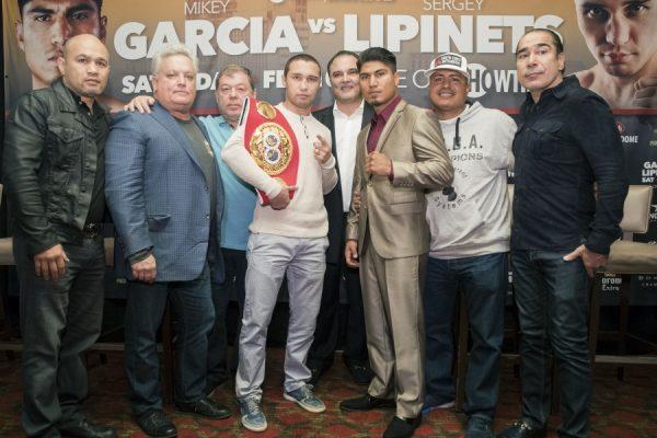 Mikey Garcia and Sergey Lipinets