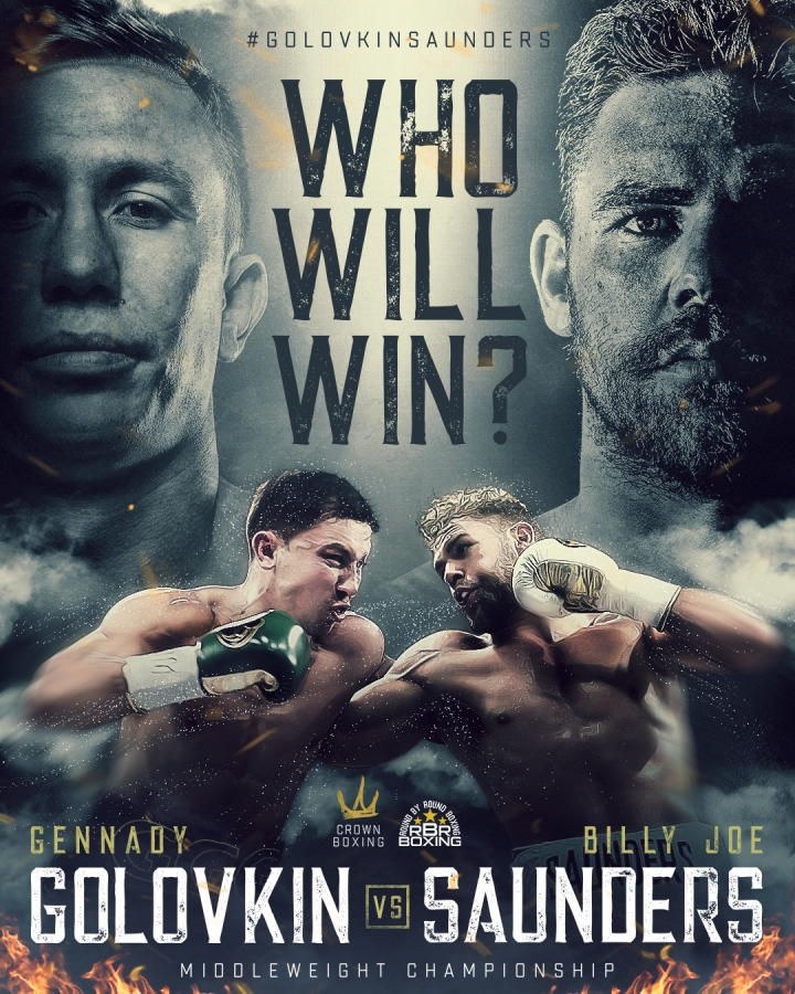 Gennady Golovkin vs. Billy Joe Saunders