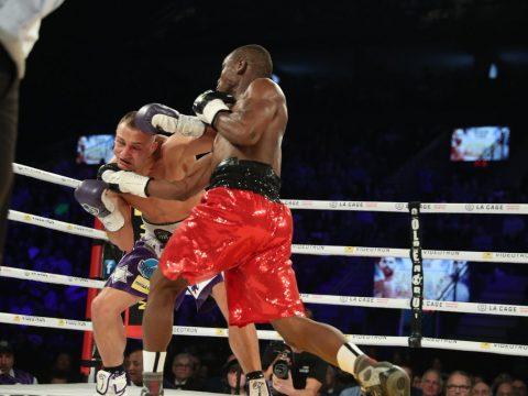 Cletus Seldin Yves Ulysse - Ed Mulholland HBO Boxing
