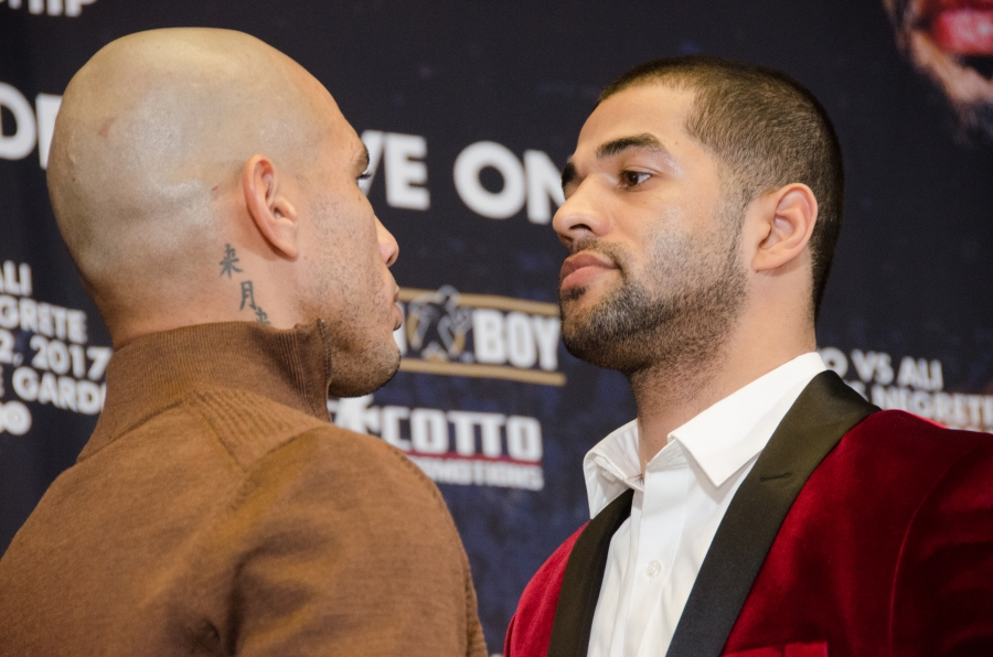 Cotto Vs Ali Final Press Conference Quotes Photos Round By