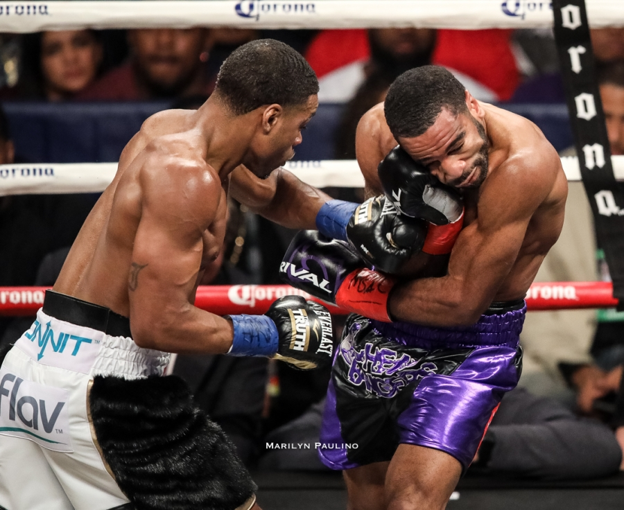 Errol Spence vs. Lamont Peterson
