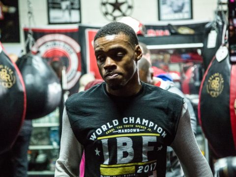 Errol Spence Jr. vs. Lamont Peterson