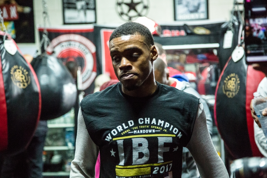 Errol Spence Jr. vs. Lamont Peterson