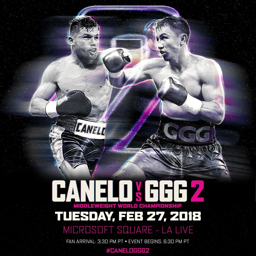 Canelo vs. Golovkin 2 Fan event