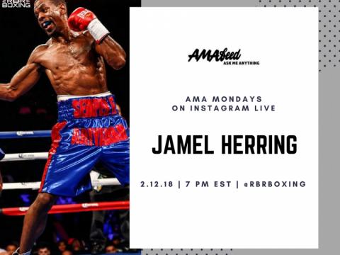 Jamel Herring AMA