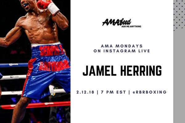 Jamel Herring AMA