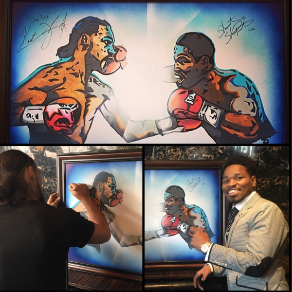 Keith Thurman Shawn Porter Autograph