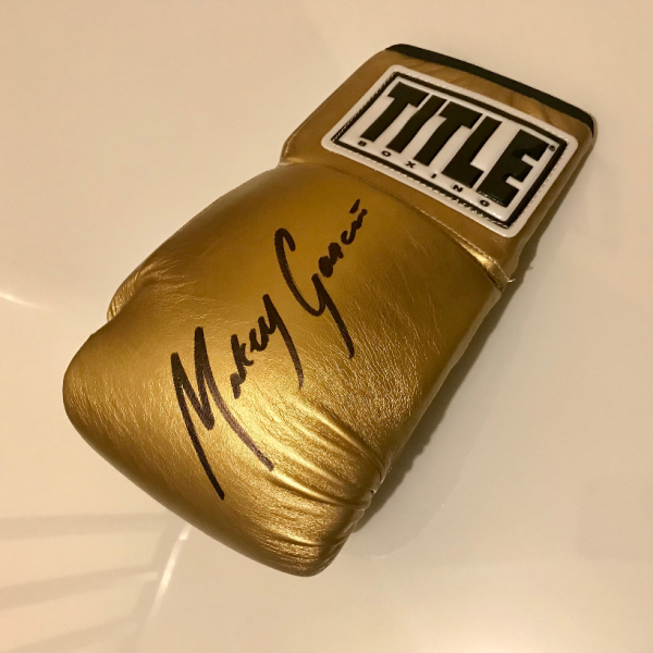 Mikey Garcia Autographed Glove