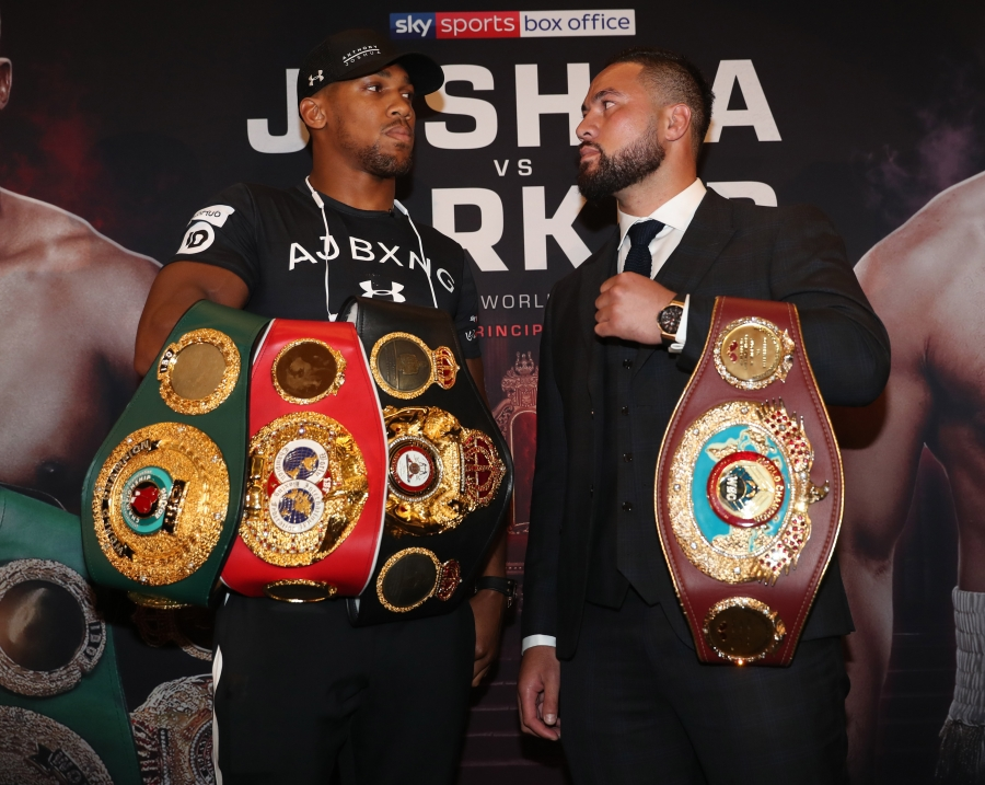 Joshua vs. Parker Showtime