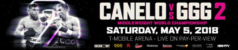 Canelo GGG 2 T-Mobile Arena