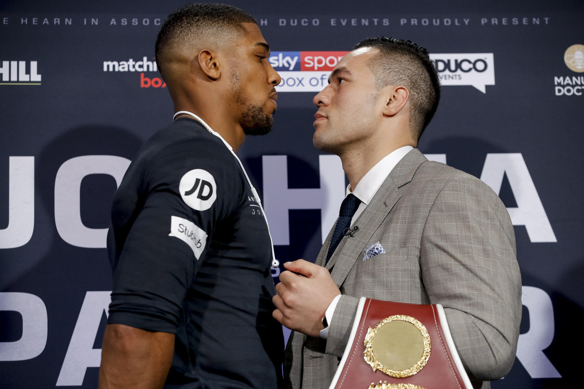 Joshua vs. Parker Preview