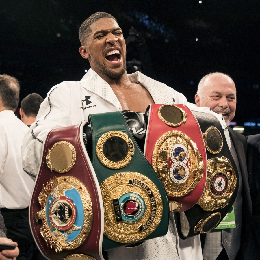 Anthony Joshua Adds WBO Title With UD Over Joseph Parker
