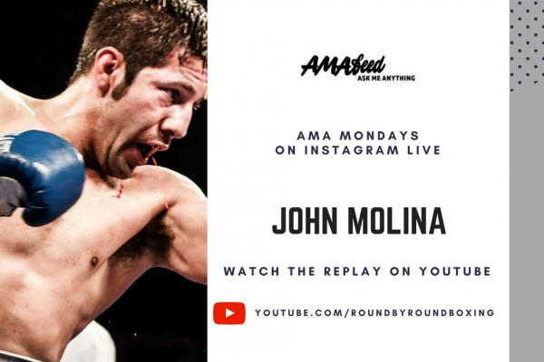 John Molina AMA Mondays