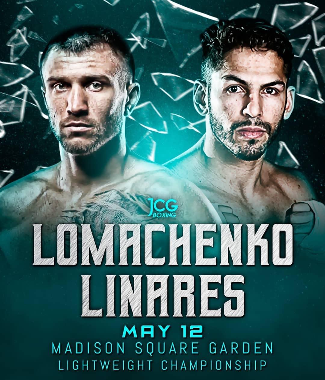 Vasiliy Lomachenko vs. Jorge Linares