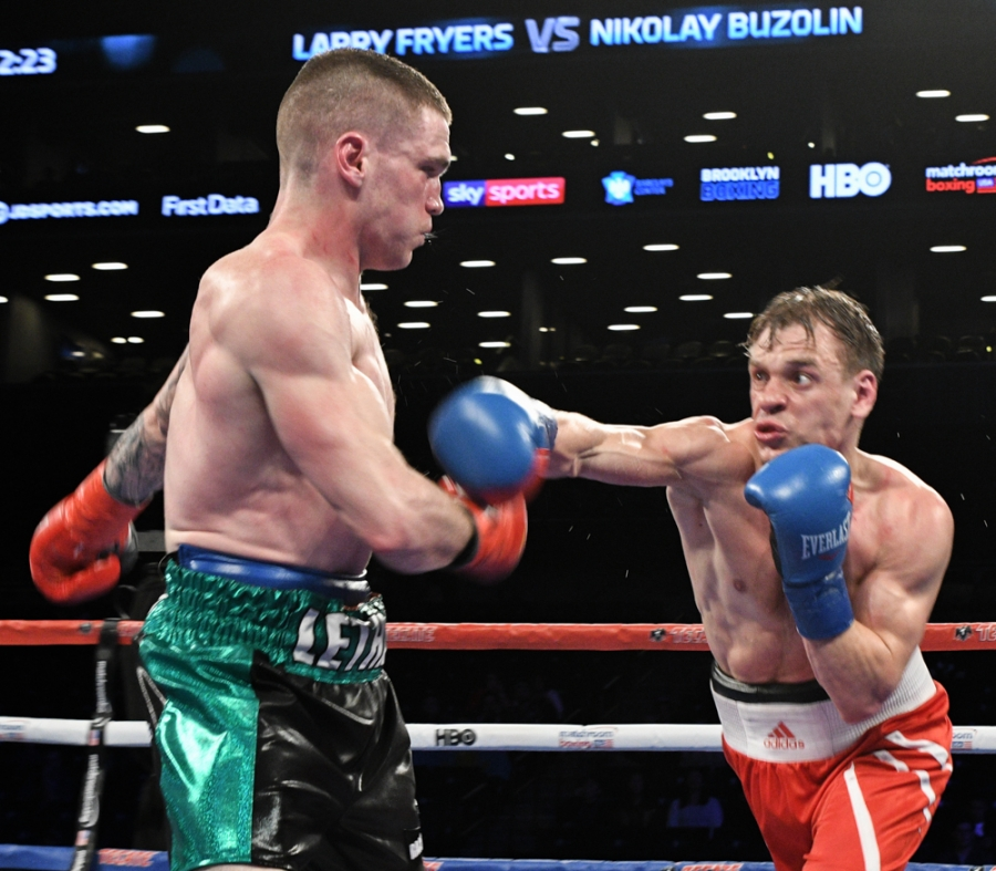 Jacobs Vs. Sulecki Fight Card Photos