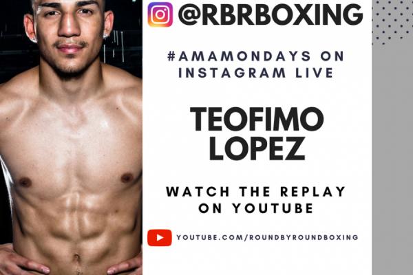 Teofimo Lopez AMA Mondays