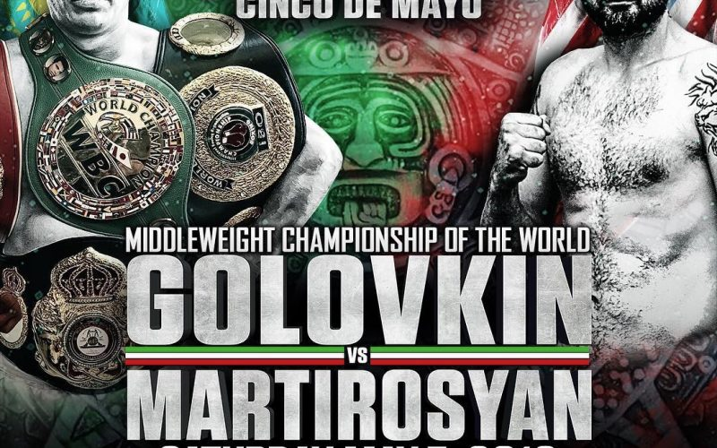 Image result for Gennady Golovkin vs Vanes Martirosyan Live