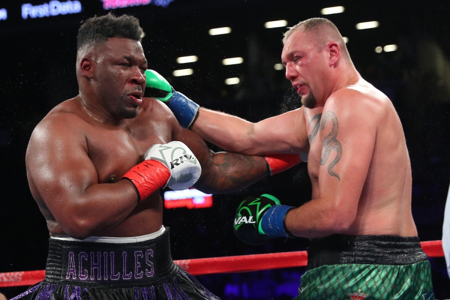 photos jarrell miller vs johann duhaupas fight night