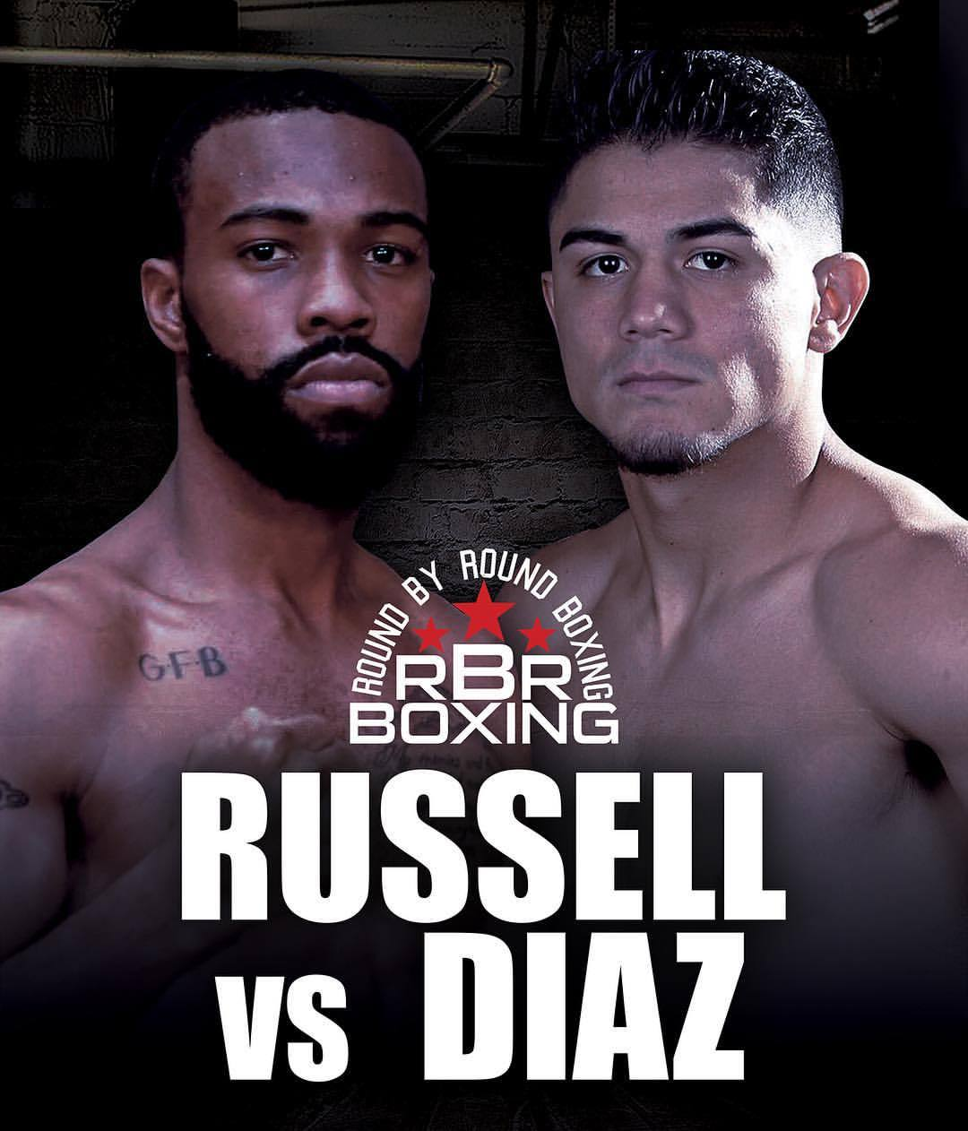 gary russell jr. vs. joseph diaz