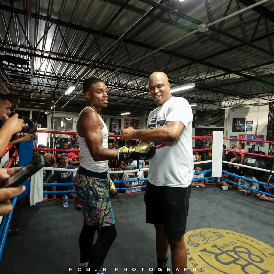 Errol Spence JR. Workout